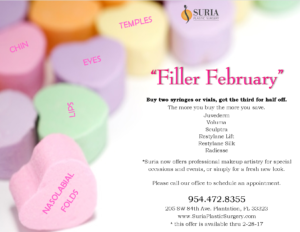 February filler | Suria Plastic Surgery FL